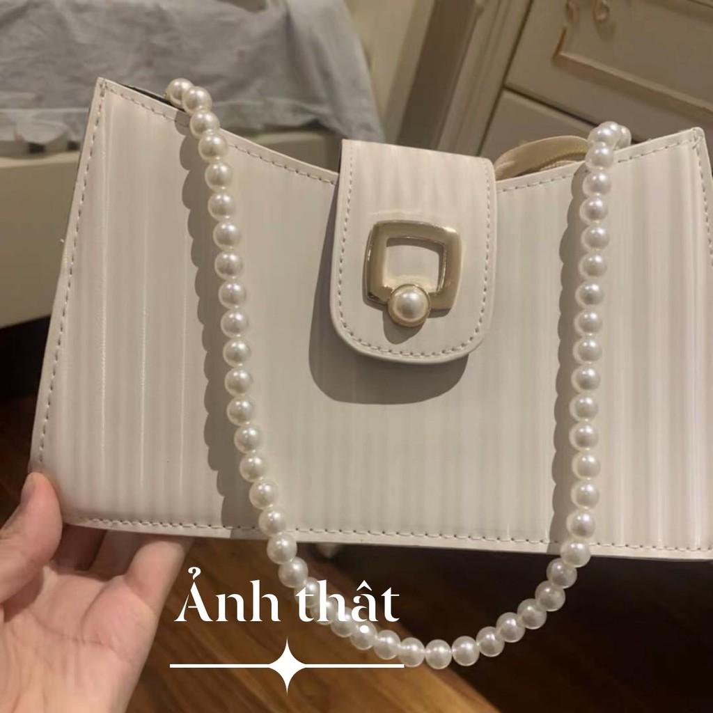 [Có sẵn] Túi đeo vai dây ngọc (có ảnh thật)