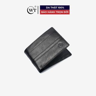 [Mã MABRL220 hoàn 15% đơn 99K tối đa 50K xu] Ví Da Nam Da Bò Cao Cấp Màu Đen, Màu Nâu WT Leather 0316, 0316.1 thumbnail