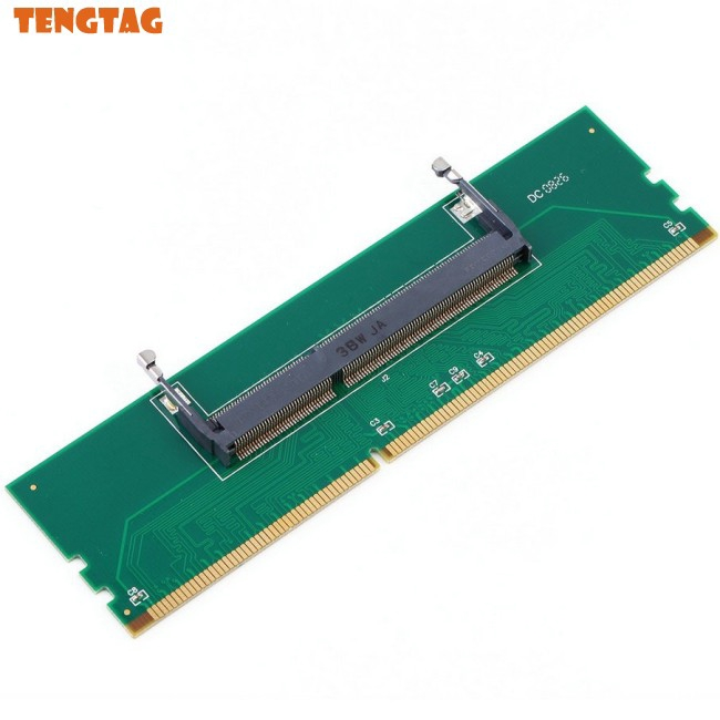 DDR3 Laptop SO-DIMM to Desktop DIMM Memory RAM Connector Adapter Giá chỉ 96.600₫