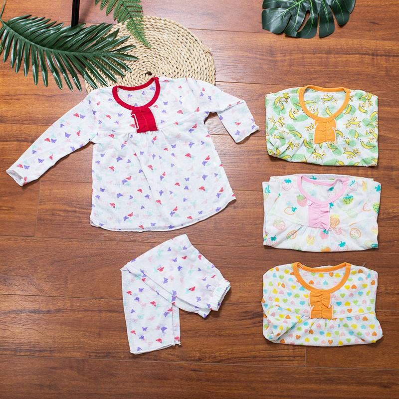 [ Mã FAMANU07 giảm 10% đơn 0đ ] [RẺ VÔ ĐỊCH] Bộ cotton Thái dài tay cho bé mặc ở nhà