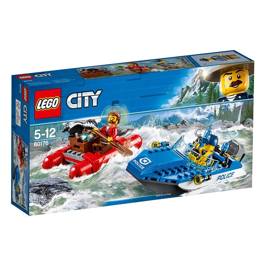 Lego City 60176_Thuyền Hơi Tẩu Thoát(126 chi tiết)