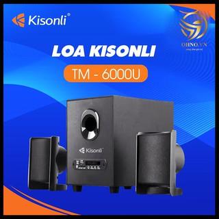 Loa Máy Vi Tính Laptop Kisonli TM-6000U – Bluetooth/USB/Thẻ Nhớ/FM Radio – OHNO Việt Nam