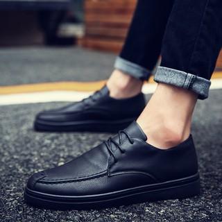 s mens giày thường Nam Hàn Quốc phiên bản xu hướng trăm đen giày của nam giới ki