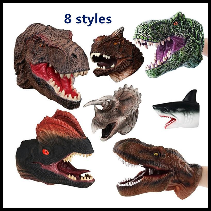 Creative Real Dinosaur Puppet Toys Action Figure Toys Plastic Toy Model