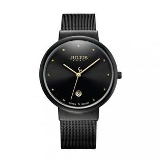 [Mã FARSBR153 giảm 15% đơn 150K] Đồng hồ nam JA-426ME JU1052 Julius Hàn Quốc dây thép (đen)
