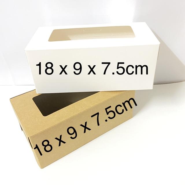 Hộp giấy đựng bánh handmade nhiều size set 10 hộp