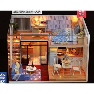 (order) Mô hình DIY căn hộ nhỏ xanh đơn giản