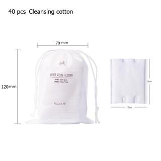 Hình ảnh Bông cotton tẩy trang FOCALLURE mềm mịn chất lượng cao-1