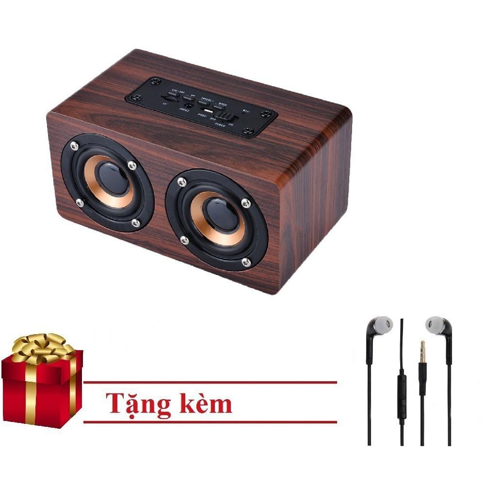 Loa Gỗ Bluetooth Super Bass HIFI Stereo Speaker S403 | TẠI BA ĐÌNH