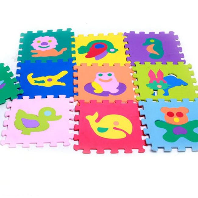 Combo 10 miếng thảm xốp đồ chơi cho bé yêu dễ dàng lắp ráp theo sự sáng tạo MP60735