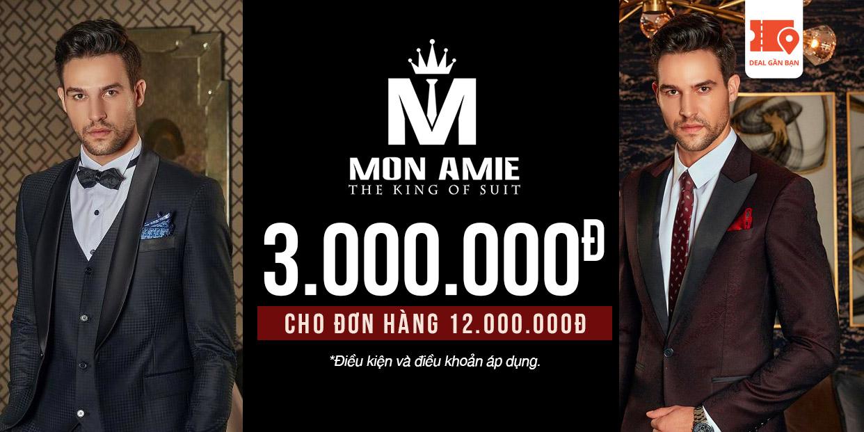 E-Voucher Mon Amie 3.000.000đ cho đơn hàng 12.000.000đ