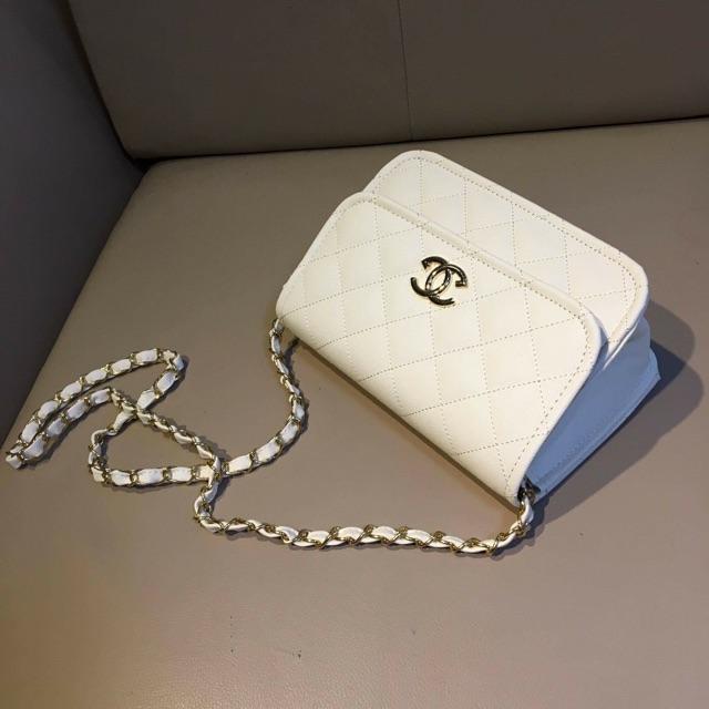 túi chanel vnxk màu trắng sz 20cm - 2522309 , 54009159 , 322_54009159 , 119000 , tui-chanel-vnxk-mau-trang-sz-20cm-322_54009159 , shopee.vn , túi chanel vnxk màu trắng sz 20cm