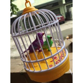 Lồng chim đồ chơi biết Hót vui tai (Có video)