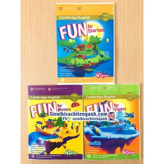 Fun for Starters, Movers, Flyers 4th edition