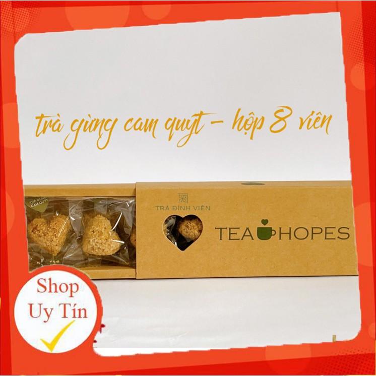 Tea Hopes - Trà viên hoa thảo mộc gừng cam quýt - 105g