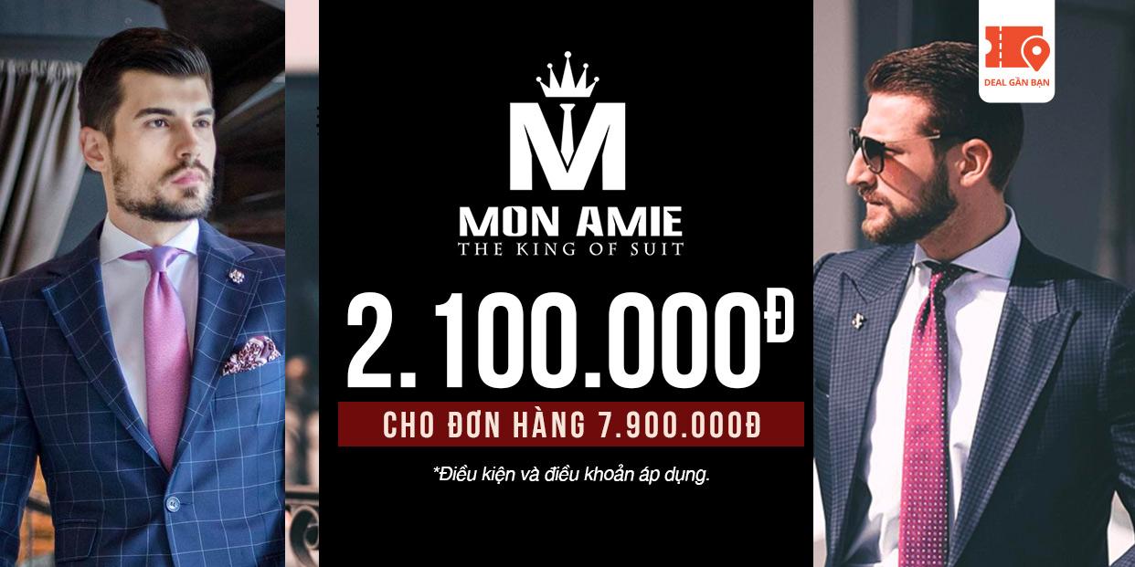 E-Voucher Mon Amie 2.100.000đ cho đơn hàng 7.900.000đ