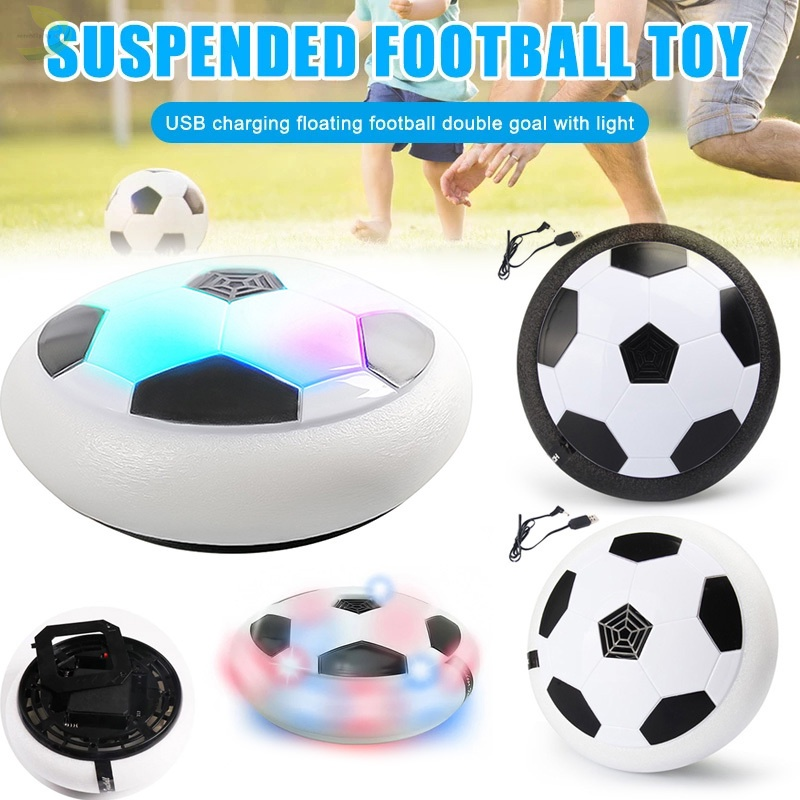 Hover Soccer Ball Boy Toy Rechargeable Floating Soccer Ball with LED Light Fun Game For Indoor