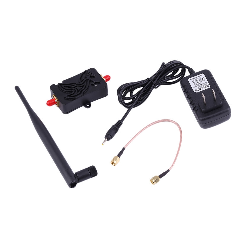 8.15【HOT】Professional 2.4GHZ 4W Wifi Wireless Broadband Amplifier Router Signal Booster