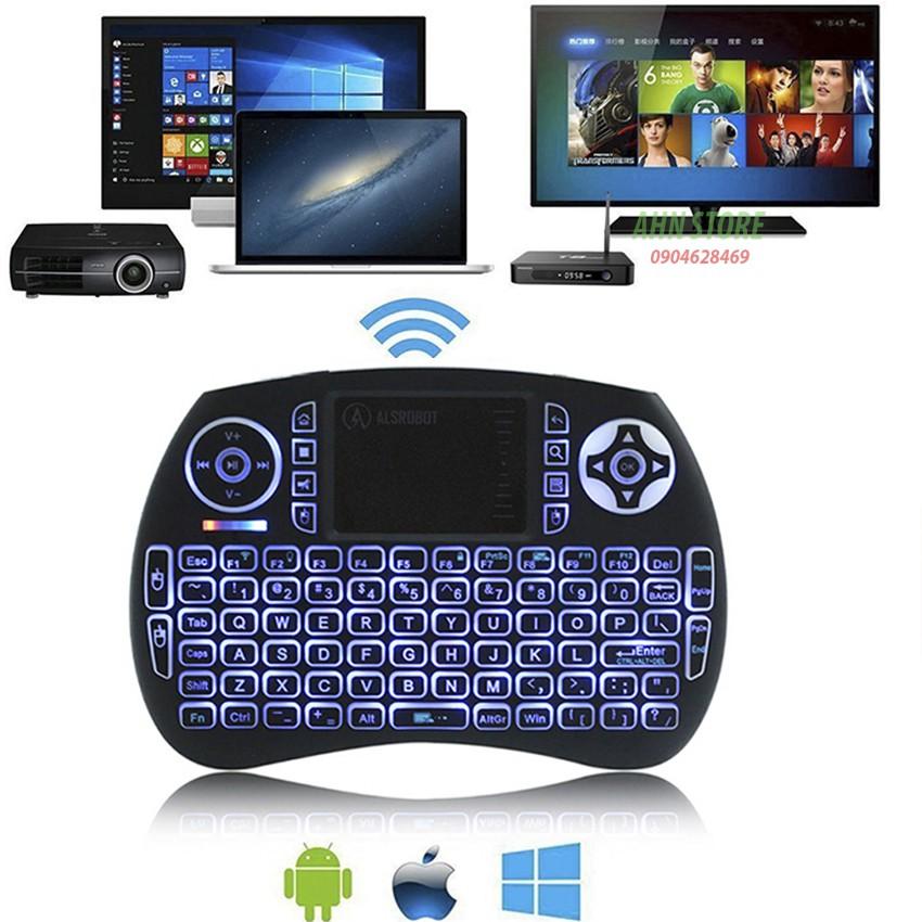 Bàn phím kiêm chuột bay UKB500 PRO, có đèn Led nền (Đen) Dành cho Android TV box, Smart TV, Laptop - 10004501 , 1223762538 , 322_1223762538 , 220000 , Ban-phim-kiem-chuot-bay-UKB500-PRO-co-den-Led-nen-Den-Danh-cho-Android-TV-box-Smart-TV-Laptop-322_1223762538 , shopee.vn , Bàn phím kiêm chuột bay UKB500 PRO, có đèn Led nền (Đen) Dành cho Android TV