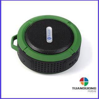 [Mã ELFLASH5 giảm 20K đơn 50K] Loa Bluetooth Chống nước chống va đập âm thanh cực hay stereo bass,kèm móc khóa C6