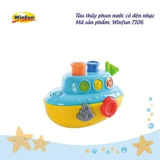 Tàu thủy phun nước có đèn nhạc Winfun 7106