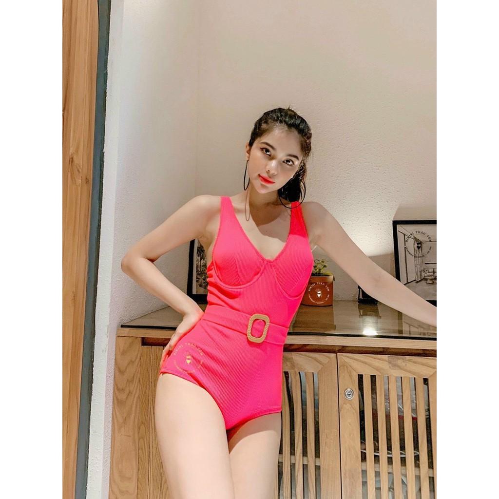 Bikini, Đồ Bơi Đi Biển Một Mảnh Thân Liền Khoen Gỗ Vuông Secxy KG07200  ODERI ྇   Shopee Việt Nam