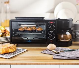bếp nướng mini,Lò nướng điện đa năng 12L thông minh chất lượng cao, giải pháp cho bữa an gia đình , Bảo hành 12 tháng