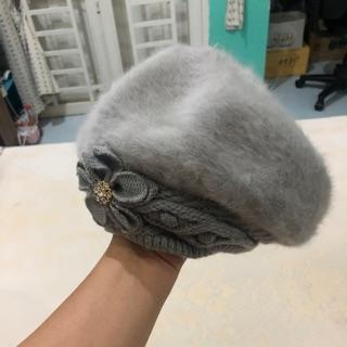 Mũ len màu lông chuột