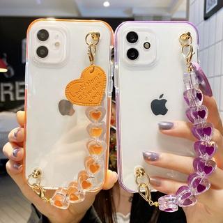 Ốp điện thoại trong suốt nhiều màu cho Samsung A72 A52 A12 A71 A51 A21s A70 A7 2018 A50 A30s A50s A30 A20 A10