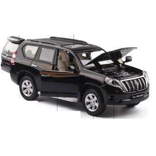 Xe mô hình ô tô Honda Landcuiser PRADO bằng sắt tỉ lệ 1:32 có âm thanh và đèn khi mở cửa