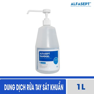 Dung dịch rửa tay sát khuẩn Alfasept Handgel 1L thumbnail