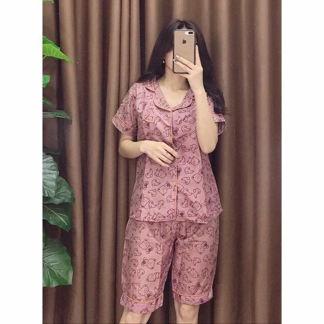 [Mã WASEPRN hoàn 20% xu đơn 99k] Bộ Ngủ Pijama Lửng Loại 1 Hình Mới Nhất