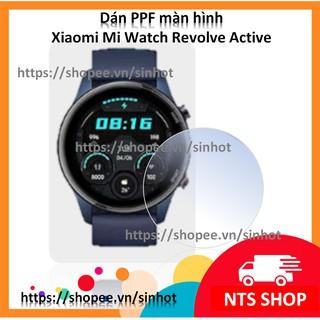 Dán PPF dẻo chống xước màn hình Xiaomi Mi Watch Revolve Active thumbnail