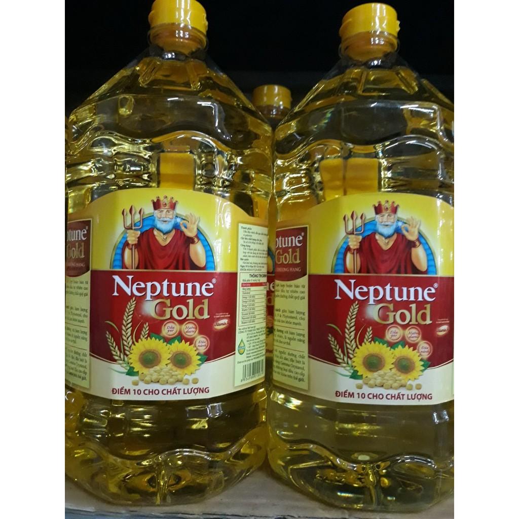 Dầu Ăn Neptune Gold Can 5 Lít