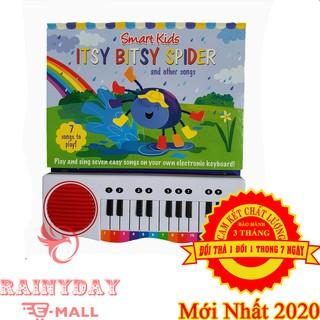 Đàn Piano Cho Em Bé, Trẻ Con Học Tiếng Anh Hiệu Quả Kết Hợp Âm Nhạc Và Ngôn Ngữ Với Sách Điện Tử Mini -SPIDER ITSY BITSY