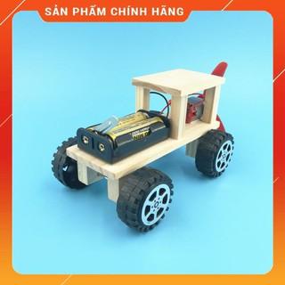 Bô Đô Chơi Khoa Ho c Tư La m Xe Đua Bă ng Gô - DIY Wood Steam thumbnail