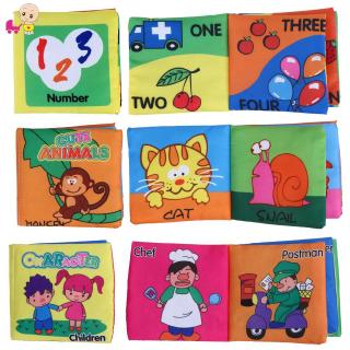 ❦Ready Stock❦☞ Baby English Learning Cloth Book Coloring Letter Books Kids Educational Toy