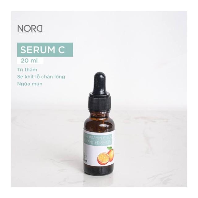 Serum C trị thâm làm sáng da , se khít lcl