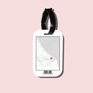 Travel tag cho túi xách balo du lịch in hình Love City - Hoi An thumbnail