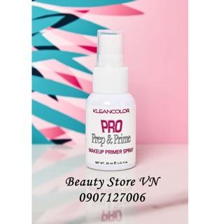 Kem Lót Dạng Xịt Pro Prep & Prime Makeup Klean - Chai 30ml thumbnail