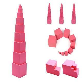 [GIÁ HỦY DIỆT] Tháp hồng montessori mini