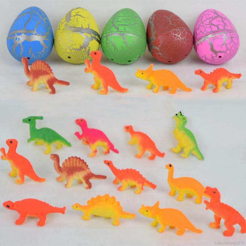 Dinosaur Eggs Dinosaur Egg Model Dinosaur Action Figure Toy Set