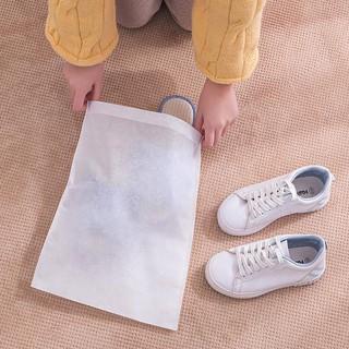 Túi Đựng Giày Dép, Quần Áo Dây Rút / Túi Bảo Quản Đồ Dùng Chống Bẩn (Trắng)
