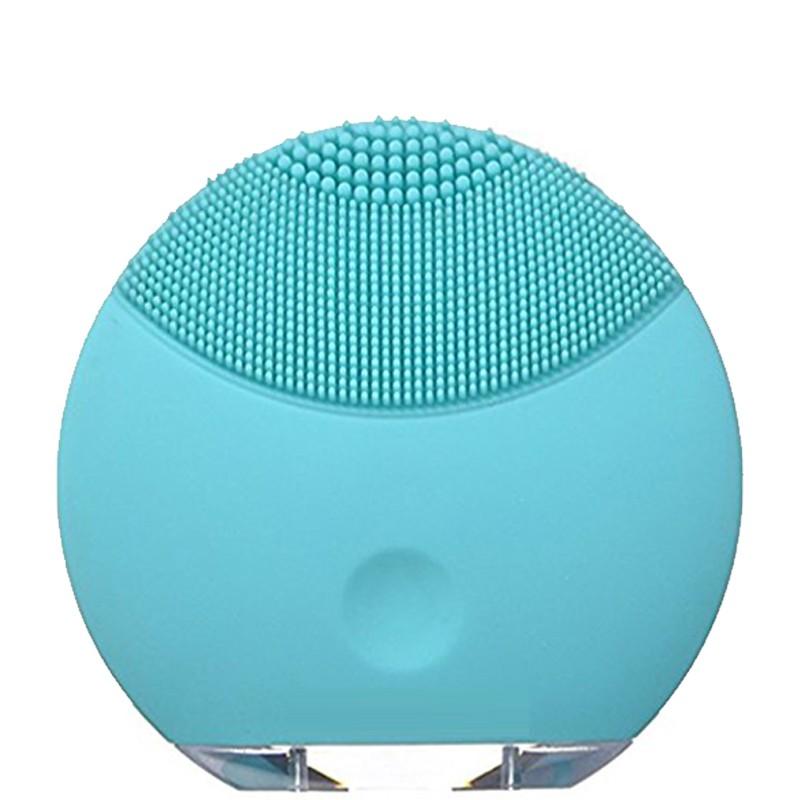 Sỉ 10 máy rửa mặt masage silicon( Hồng+xanh)