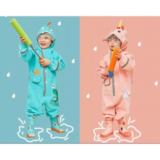 Áo mưa liền thân cao cấp HQ cho bé trai và bé gái ( không kèm ủng )