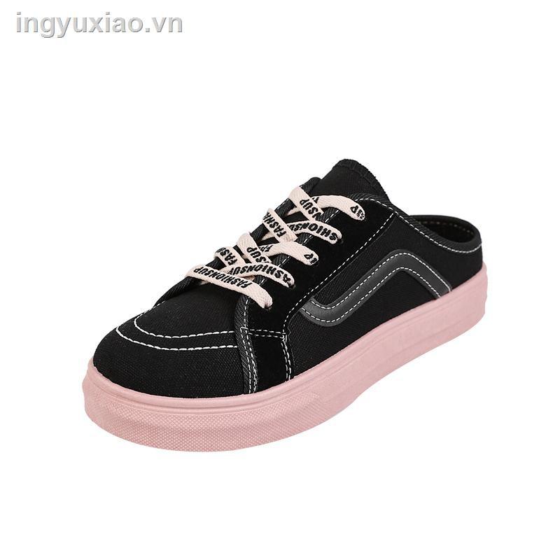 Giày Lười Vải Thời Trang Mùa Hè Cho Nữ 2019
