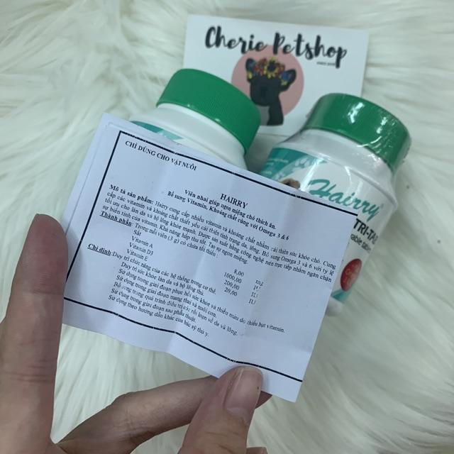 [Mã 267FMCGSALE giảm 8% đơn 500K] Viên bổ sung vitamin - khoáng chất, giúp ngon miệng cho chó mèo
