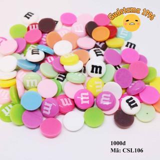 Charm M&M (Charm kẹo chữ M)