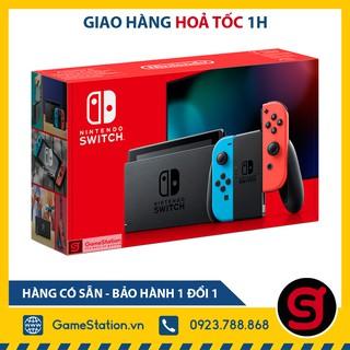 [Mã ELMS5TR giảm 5% đơn 5TR] Máy Nintendo Switch V2 NEW Model 2019 - Màu Neon thumbnail