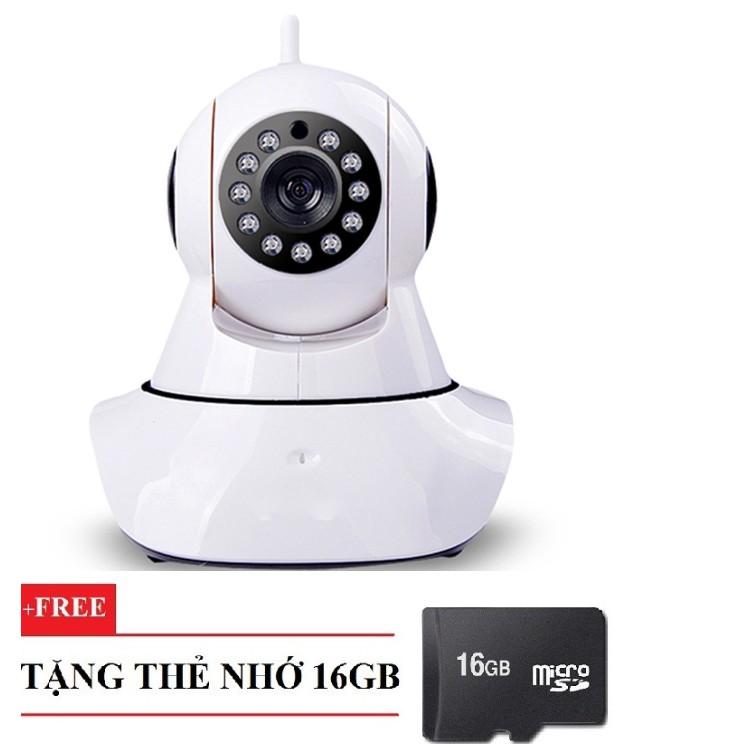 Camera IP Xmeye Giám Sát Kiêm Báo Động Elitek EIP-8720 Kèm Thẻ 16GB
